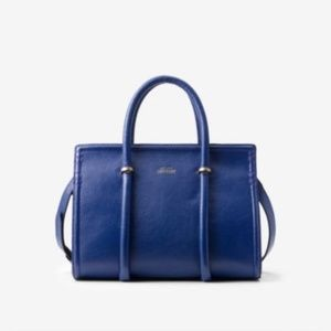 Kate Spade Saturday Blueberry leather satchel